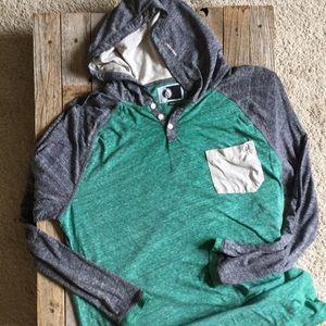 Volcom lightweight pullover hoodie